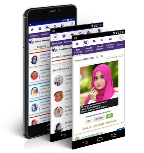 French Muslim Matrimonial Mobile Site
